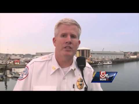 7 injured when fueling boat catches fire in Boston
