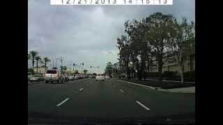 Driving in Los Alamitos, California
