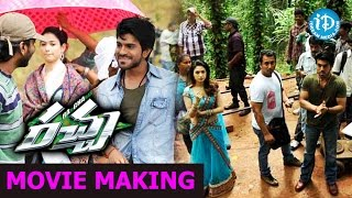 Rachaa - Racha Movie Making - Ram Charan Real Stunt