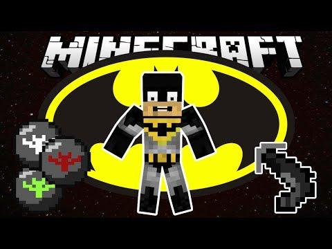 Бэтмен в Minecraft (Batman Mod) - Обзор модов Minecraft # 70