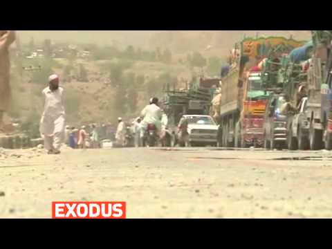 mitv - A mass exodus out of Pakistan's North Waziristan