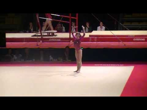 Anastasia Grishina new Floor Routine at Massilia 2011