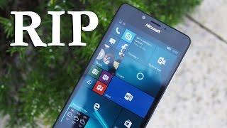 Продажи смартфонов Lumia могут быть прекращены до конца года