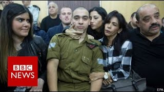 Israel soldier convicted over Hebron death - BBC News