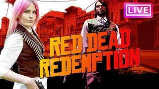 Red Dead Redemption for the VERY FIRST TIME!
