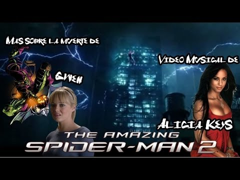 The Amazing Spider-Man 2 Video Musical de Alicia Keys y Mas Sobre La Escena de Gwen Stacy