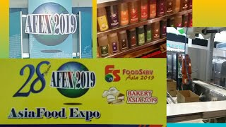 AFEX 2019 | ASIAFOOD EXPO  | WORLD TRADE CENTER