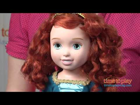 Disney/Pixar's Brave Merida with Bear Brothers from Tollytots