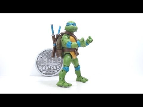 Video Review of the Teenage Mutant Ninja Turtles Classic, Leonardo