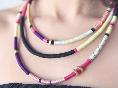 How-to: Tribal Necklace by Ari of Boat People