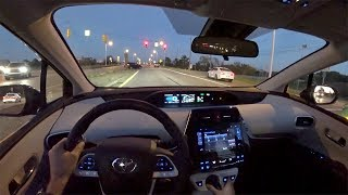2017 Toyota Prius Prime Plus - Walkaround & POV Sunset Drive