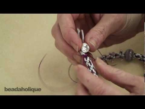 How to Tie Off and Finish Kumihimo Braid Ends