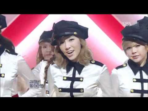 Snsd - Mr.taxi (소녀시대-mr.taxi) sbs Inkigayo 인기가요 20111225 video