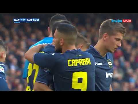 Serie A 18. Hafta   Napoli 3-2 Sampdoria Maç Özeti
