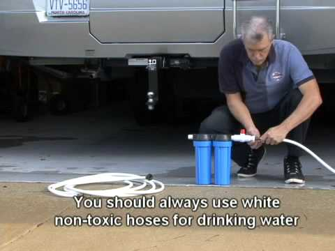 How To Install An Rv Water Filtration System By Rv