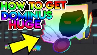 HOW TO GET THE RAINBOW DOMINUS HUGE EASY (Pet Simulator Dominus)