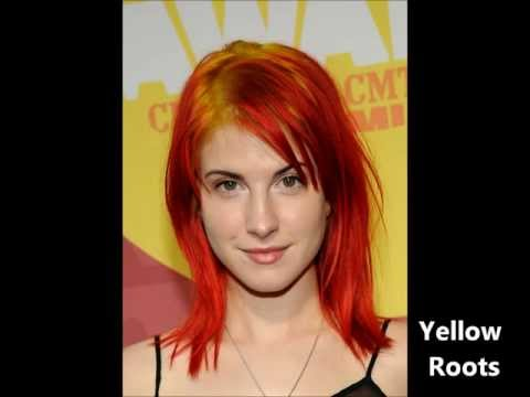 Hayley Williams hair colors 2005-2012