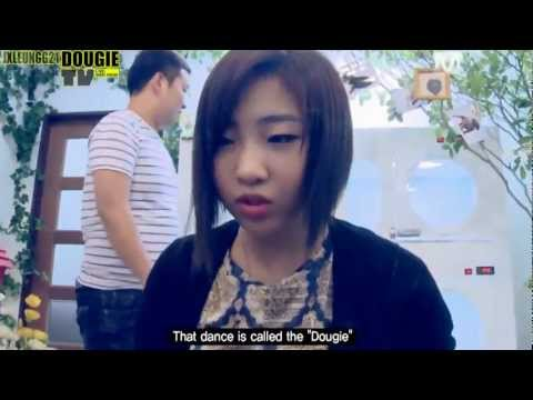 DOUGIETV : Cute / Funny cuts of Dougie and Minzy from 2NE1TV