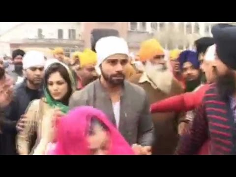 Virat Kohli visits Golden Temple and  Wagah Border ahead of Asia Cup
