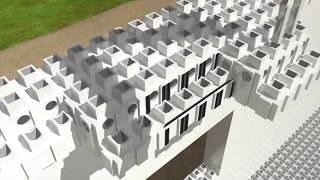 Технология строительства зданий по принципу конструктора LEGO