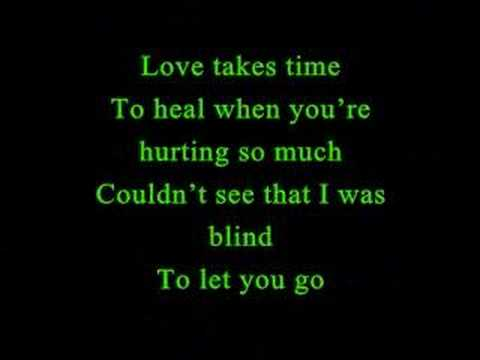 Love Takes Time - Mariah Carey [Lyrics]