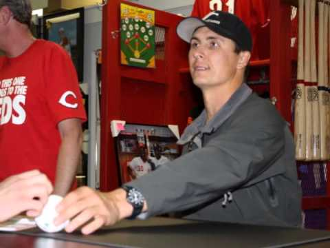 Homer Bailey & Zack Cozart 2012 at Sports Gallery
