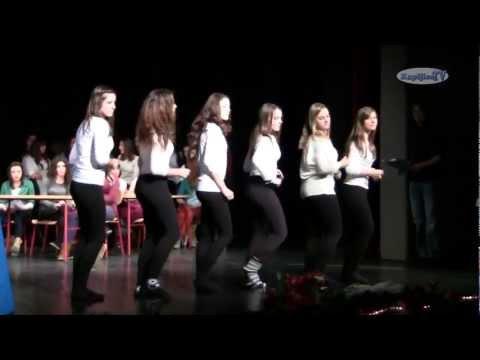 KapljiceTV - Bozic s gimanzijalcima 2012.g. - Ples Kapljice