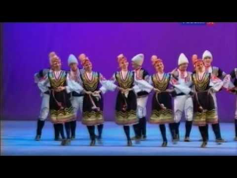 Български танц - балет Игорь Моисеев / Bulgarian Dance - Igor Moiseyev Ballet