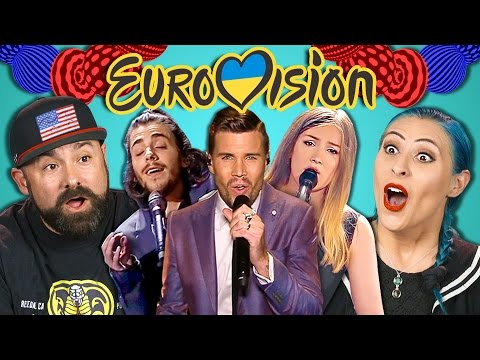 ADULTS REACT TO EUROVISION 2017