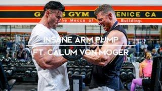 INSANE ARM PUMP ft. Calum Von Moger | 6 Weeks to LEAN Ep. 1