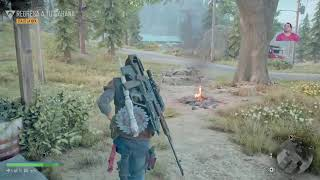 Jugando DAYS GONE PS4
