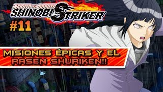 MISIONES ÉPICAS Y APRENDEMOS EL RASEN SHURIKEN! NARUTO TO BORUTO SHINOBI STRIKER MODO: HISTORIA #11