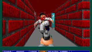 Wolfenstein 3D, E4M3, No damage, Hard, Pistol start, No saves, Sub-par time, Both exits tagged