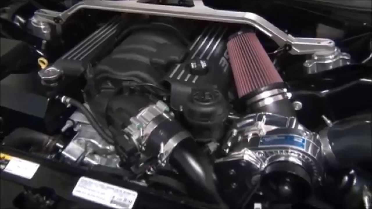 2014 Dodge Challenger 6.4L SRT8 w/ Procharger Supercharger Kit - YouTube