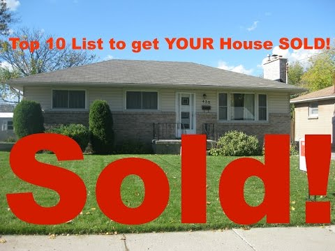 London Ontario Real Estate: Top 10 List to get your house SOLD!