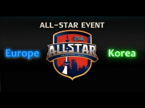 LCS All-stars: Europe vs Korea - Game 2 Highlights