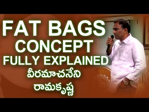FAT BAGS Concept Fully Explained Here - Veeramachaneni Ramakrishna | Gold Star Entertainment
