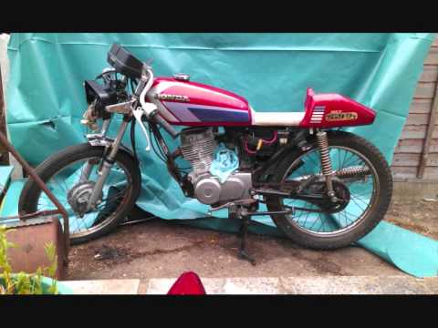 Honda cg Cafe Racer Parts Honda cg 125 Cafe Racer Build
