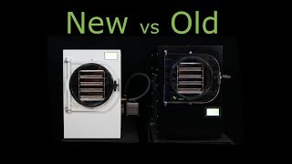 Review: NEW vs. OLD - Harvest Right Home Freeze Dryer - AND Software changes.