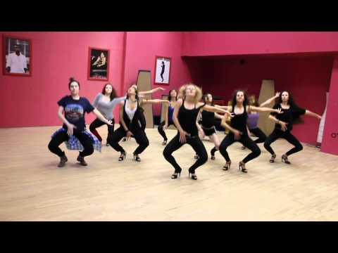 Madonna - Girl gone wild choreography Maria Ivanova
