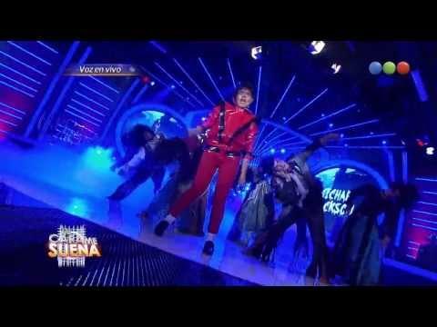 Laura Esquivel como Michael Jackson - Tu Cara Me Suena HD (Gala 4)