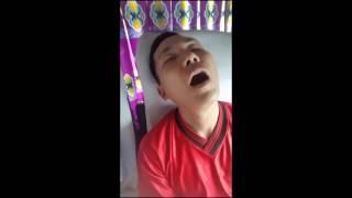 Clips cười thánh ngủ trên xe khách cười để bụng 😂😂😂