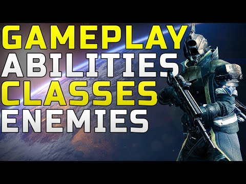 Destiny News - Gameplay & Images! Classes, Locations, Enemies & More!