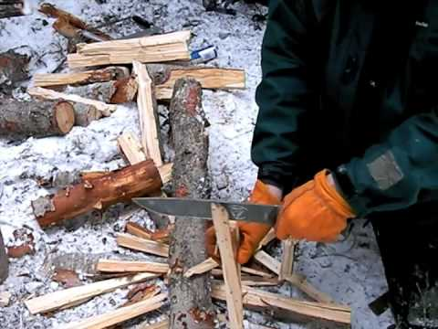 Survival Skills: Firemaking in Snow, Part 4