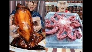 THÁNH ĂN TRUNG QUỐC | ĂN BẠCH TUỘC KHổng LỒ,MỰC KHỦNG _ eating show eat seafood octopus MUKBANG #5
