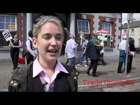 Women strike at Kells Credit Union