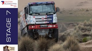 TATRA BUGGYRA RACING on DAKAR 2017 - Stage 7