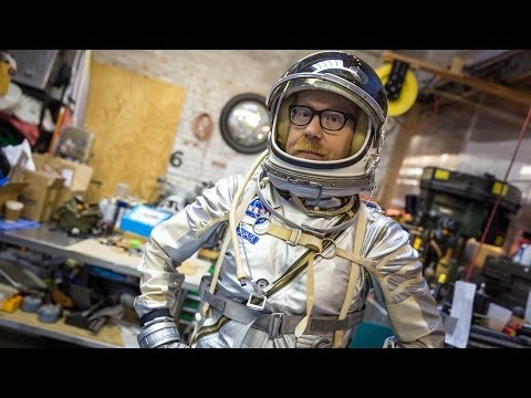 Adam Savage's Mercury Spacesuit Replica