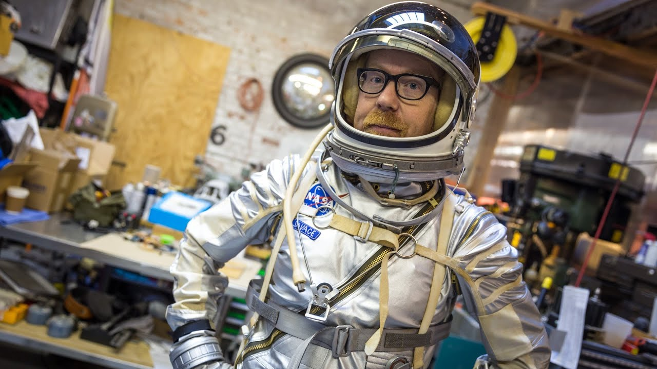 Adam Savage's Mercury Spacesuit Replica - YouTube