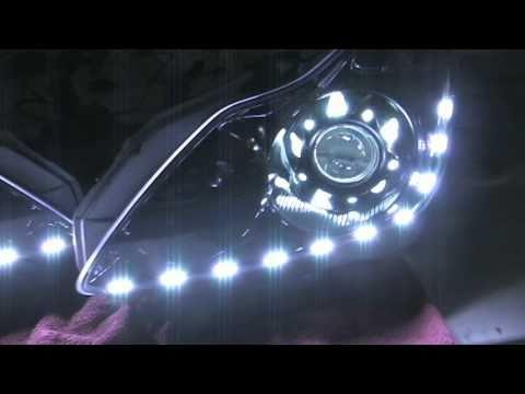 Audi Aftermarket Headlights G37 Audi Iron Man Headlights
